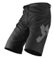 Preview: JUST1 Shorts J-Flex MTB Hype schwarz/grau
