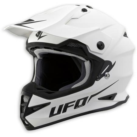 "Ufo Helm Warrior ""Base"" weiss"