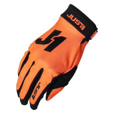 JUST1 Handschuhe J-Flex orange/schwarz