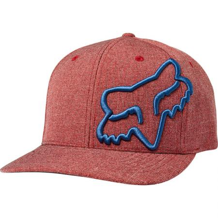 FOX Clouded Flexfit Snapback rot/blau