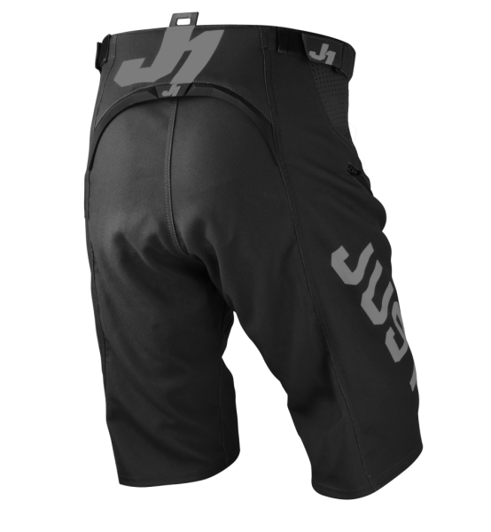 JUST1 Shorts J-Flex MTB Hype schwarz/grau
